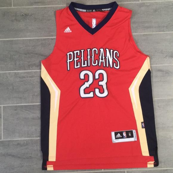 Adidas Anthony Davis Pelicans Jersey